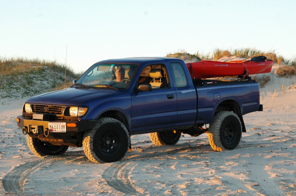 Toyota Tacoma on the Outerbanks of North Carolina