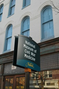 The National Museum of Civil War Medicine is in Downtown Frederick