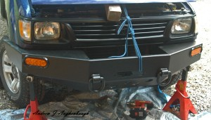 Toyota Tacoma Blue Lake Off Road Front Bumper
