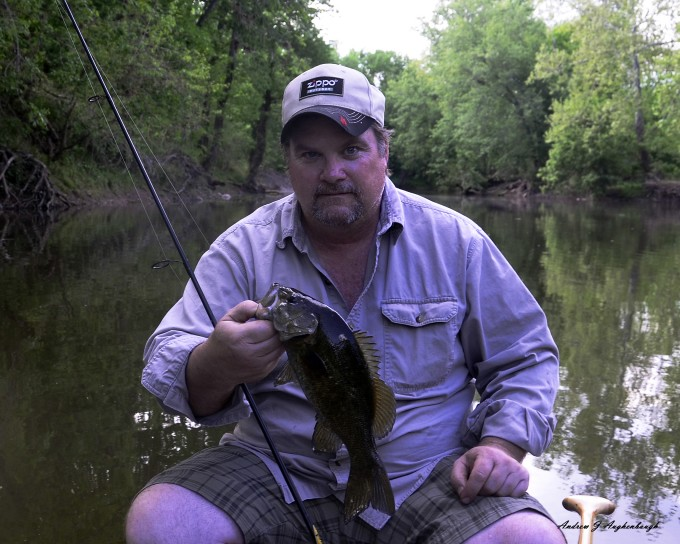 Monocacy River smallmouth, Jack crevalle